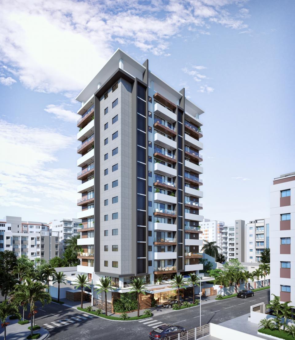 Proyecto en construcción en el sector ENSANCHE NACO precio desde US$ 175,235.40 hasta US$ 594,660.00 0