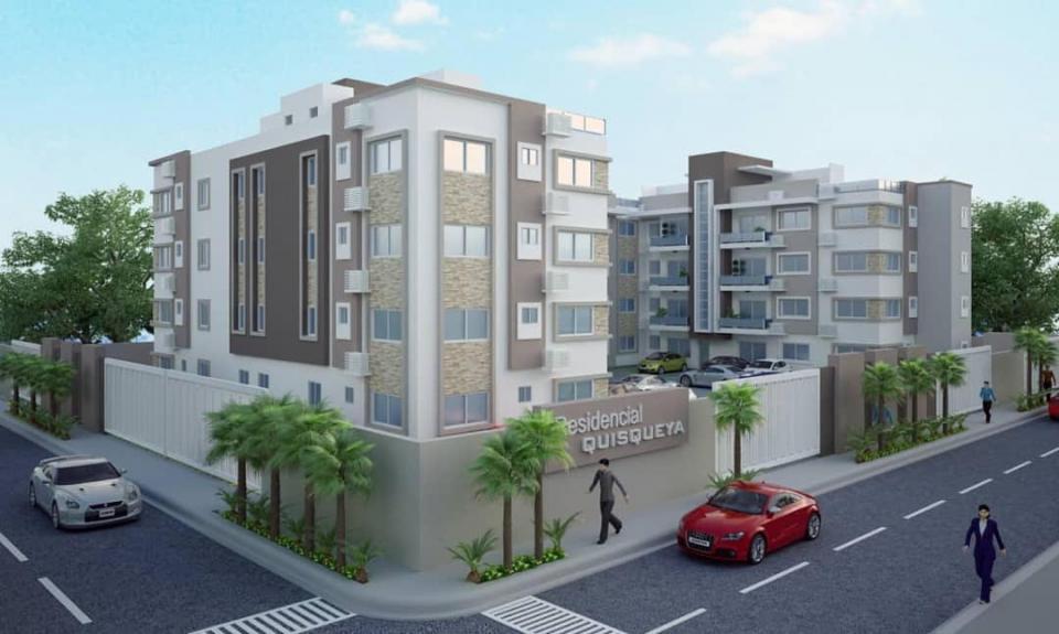 Proyecto en construcción en el sector QUISQUEYA precio desde US$ 92,995.00 hasta US$ 129,607.00 0