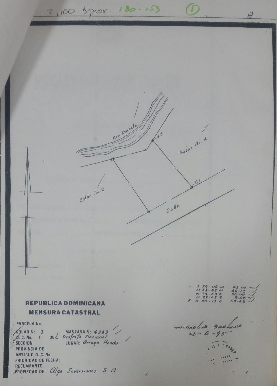 Terreno en venta en el sector CUESTA HERMOSA III precio US$ 280,000.00 US$280,000