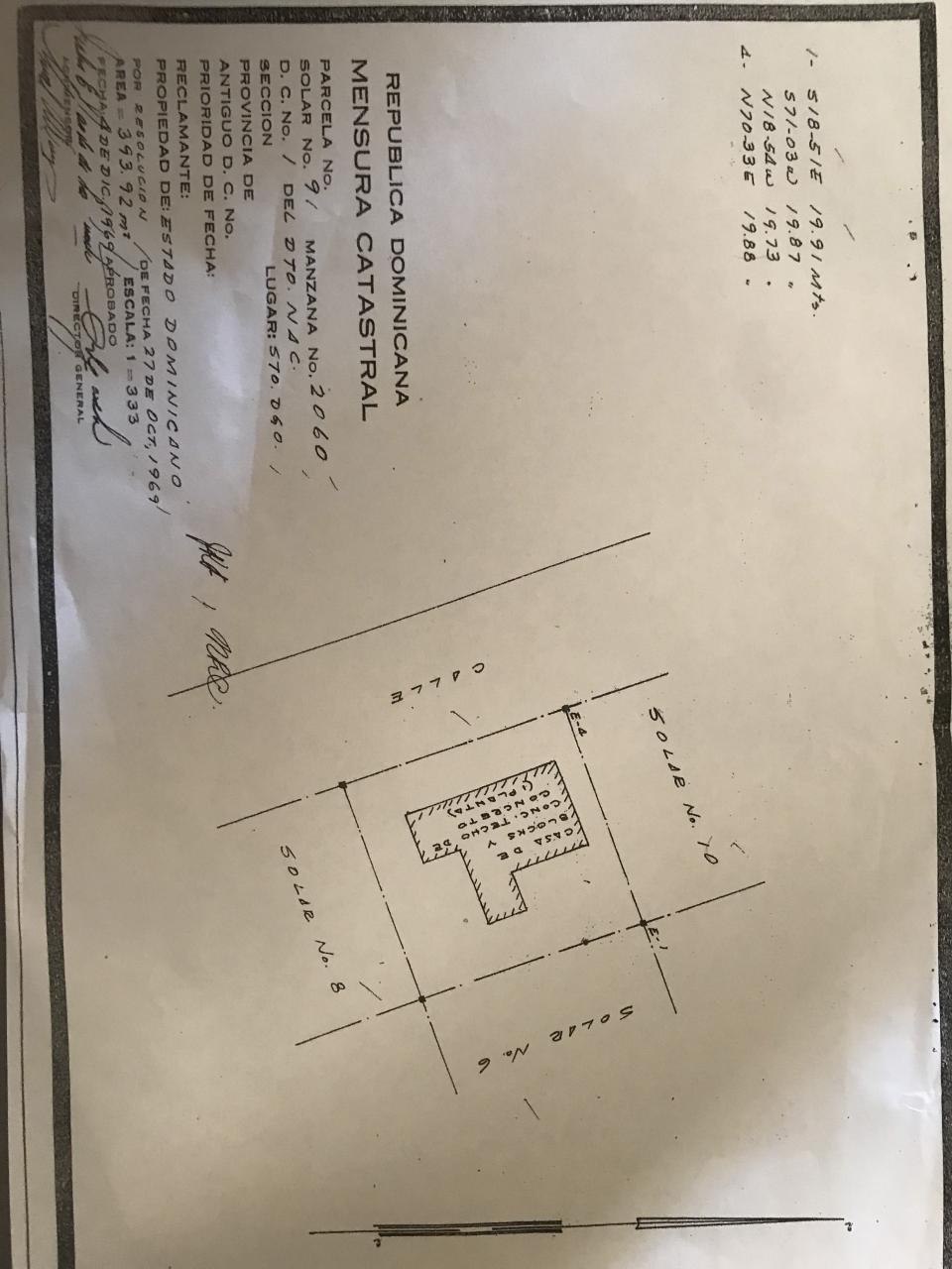 Terreno en venta en el sector MIRADOR SUR precio RD$ 20,000,000.00 RD$20,000,000